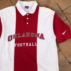 Vintage Nike Oklahoma University Golf Polo